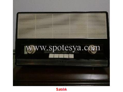 antika philips siera radyo