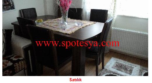 6 kişilik yemek masası4