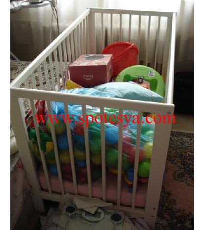 ikinci el bebek beşiği