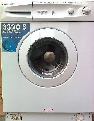 3320 arçelik çamaşır makinesi temiz sorunsuz