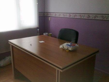 Ofis koltuk takımı masasıyla birlikte