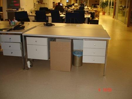 Çağrı merkezine ait ofis, büro mobilyaları