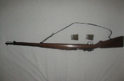 Osmanlı antika tüfeği (alman mavzeri)