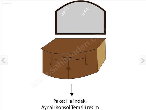 2.el mobilyalar; vitrin, aynalı konsol, yemek masası, tekli koltuk dahası da var