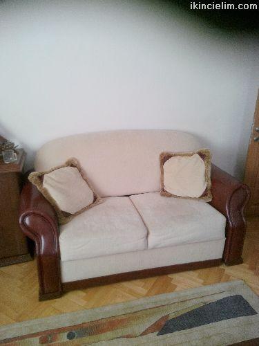 garantisi yeni bitmiş komple salon mobilyası
