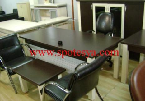 ofis için ikinci el tertemiz sekreter masa ve sandalyesi