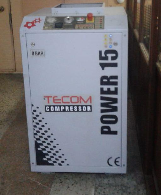 2.el tecom power 15 vidalı kompresör