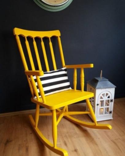 ikinci el renkli sallanan sandalye