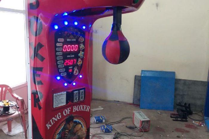 boks makinesi vurulduğu zaman çok az ses çıkarır
