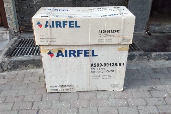 defolu 9.000 btu sıfır kutulu airfel klima