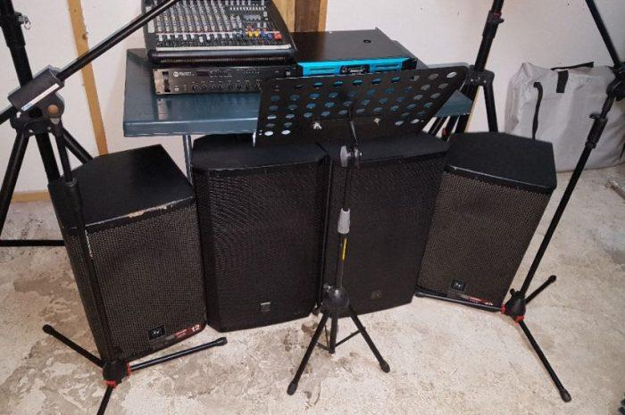 ikinci el canlı müzik sistemi komple sistem