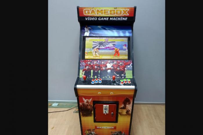 çok oyunlu ikinci el atari makinesi ekranlı ve ucuz fiyat