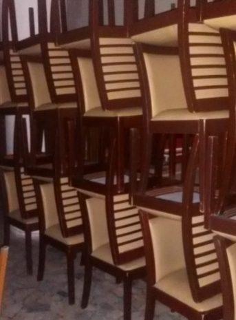 toplu ahşap cafe lokanta sandalyesi